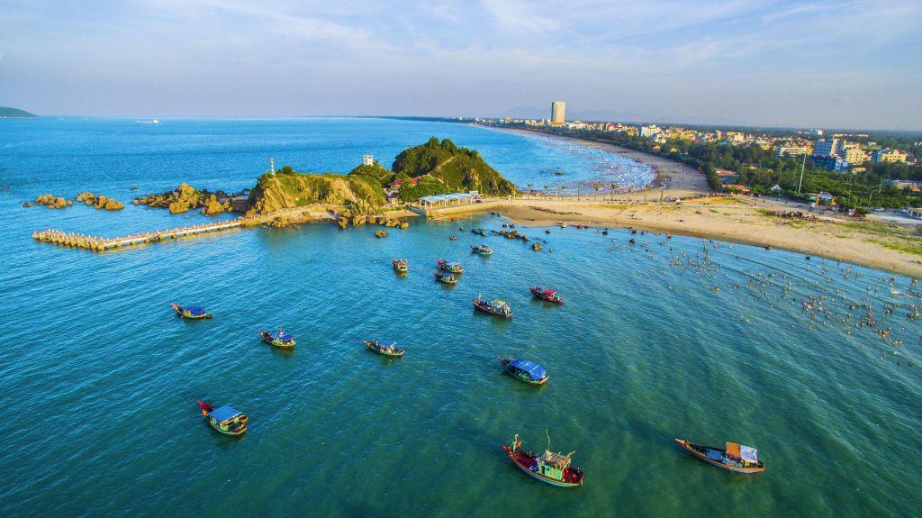 Vé máy bay đi Vinh - Biển Cửa Lò
