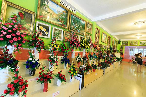 Showroom Hoa khô Đà Lạt