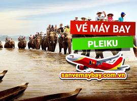 Vé máy bay đi Pleiku