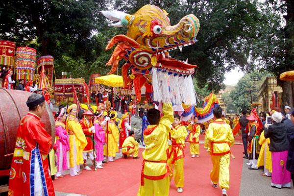 Lễ hội tại Hoàng Thành Thăng Long