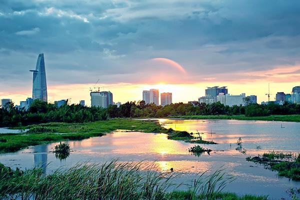 Bình minh Sài Gòn