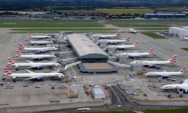 sân bay London Heathrow