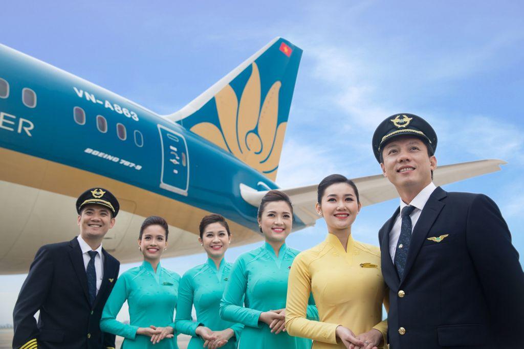 Vé máy bay đi Anh Vietnam Airlines