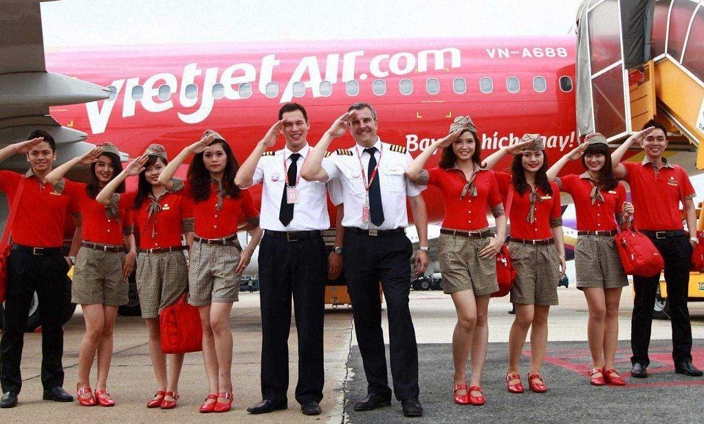 Cách tính thuế và phí vé máy bay Vietjet Air