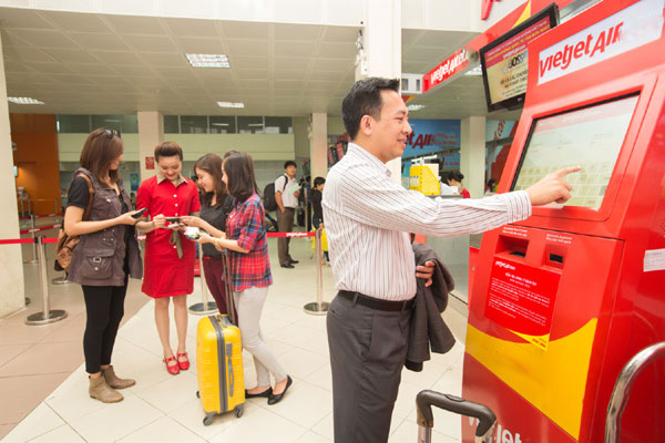 Check in Vietjet Air online