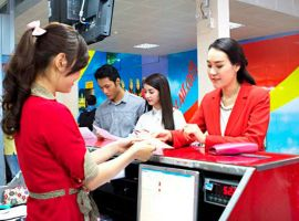 Check in online Vietjet Air