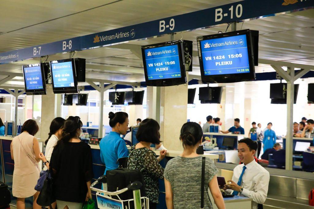 Hướng dẫn làm thủ tục đi máy bay Vietnam Airlines đơn giản nhất