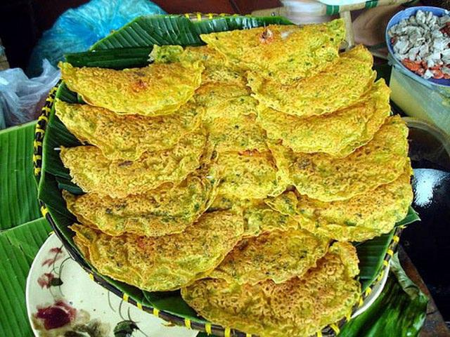 Bánh xèo Quảng Hòa thơm ngon