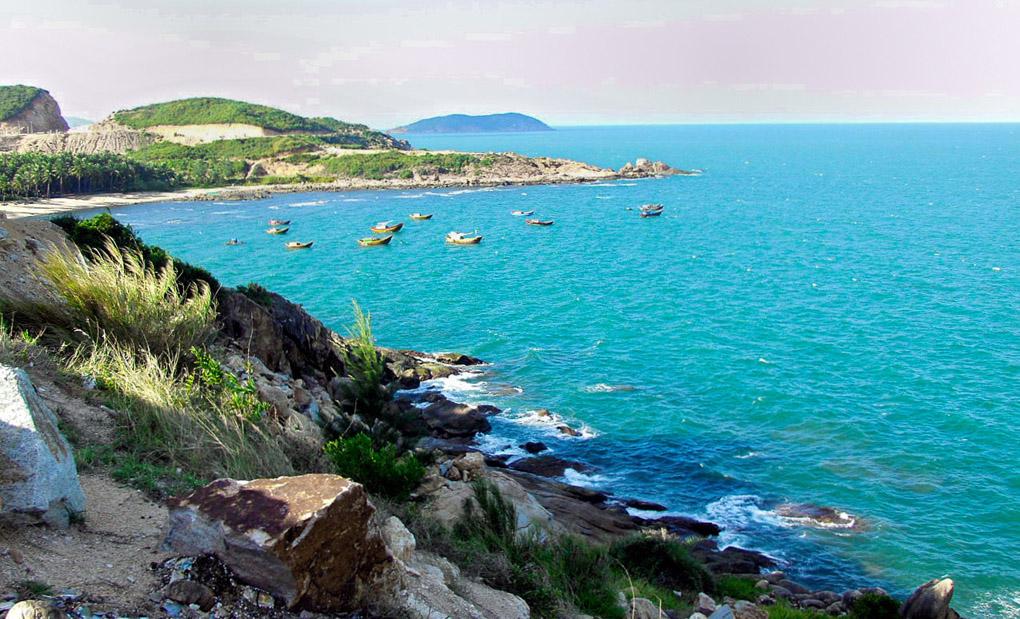 Bãi biển Cà Ná thuộc tỉnh Ninh Thuận