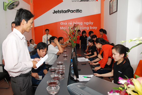 Hướng dẫn kiểm tra thông tin chuyến bay Jetstar