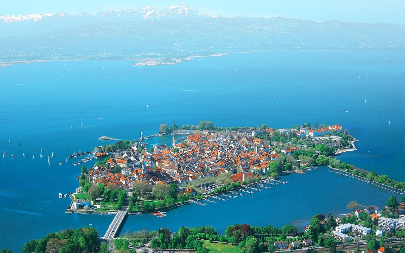 Hồ Bodensee, Đức
