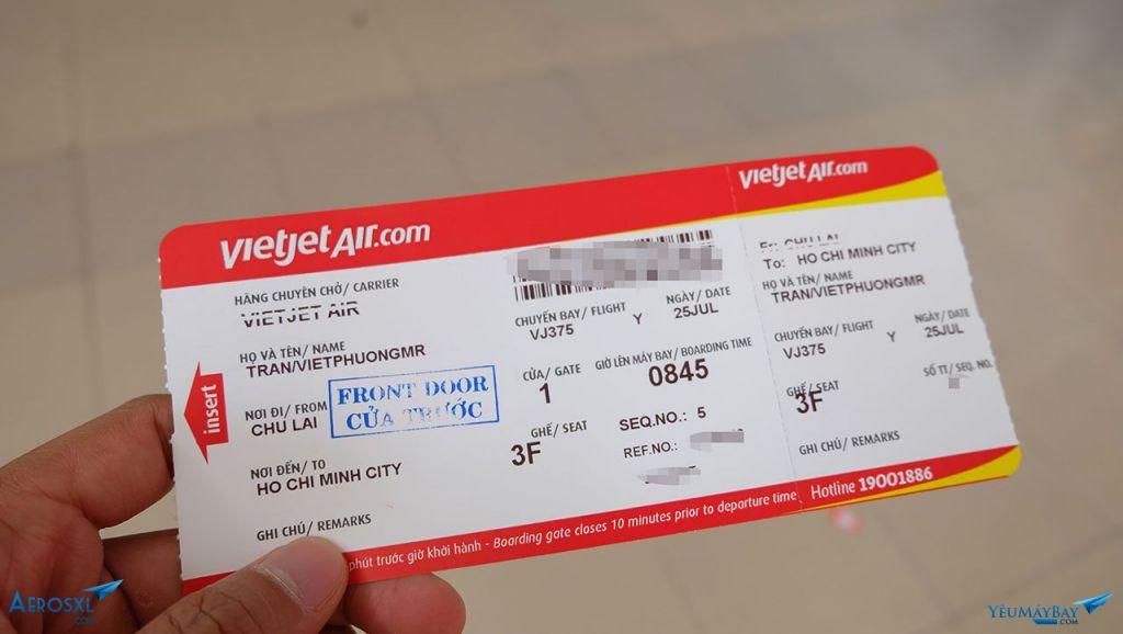 Hủy vé máy bay Vietjet mất bao nhiêu tiền