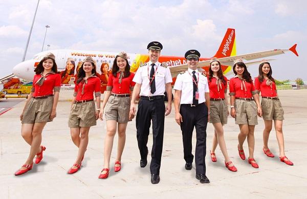 Lương tiếp viên hàng không Vietjet Air
