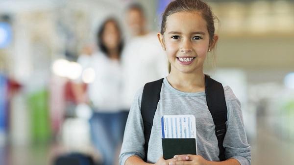 Mẫu giấy ủy quyền cho trẻ em đi máy bay