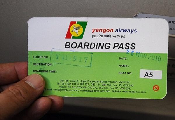 Boarding pass là gì
