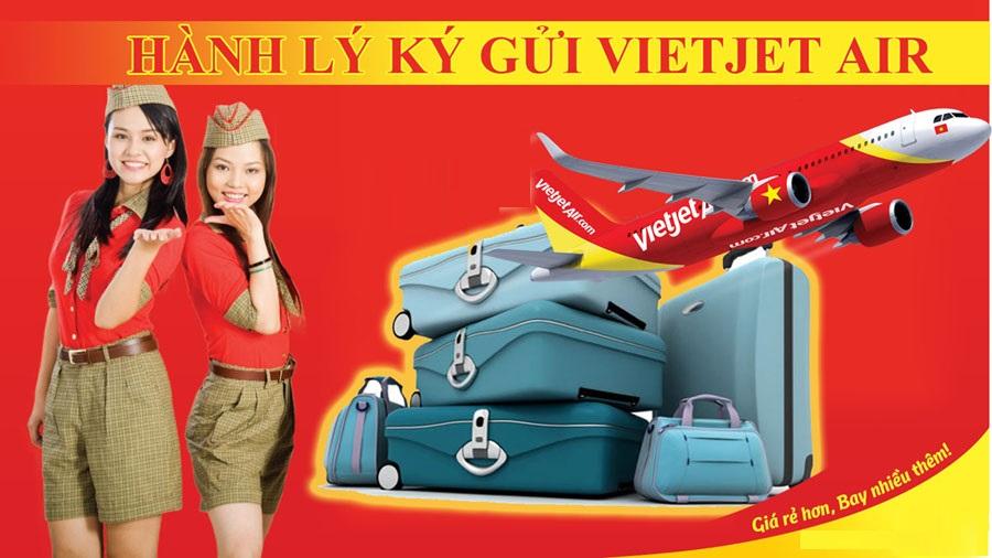 Bảng giá hành lý ký gửi của Vietjet Air chi tiết