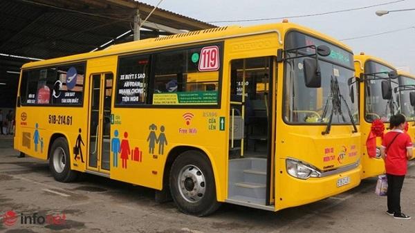 Tuyến xe buýt đi sân bay Tân Sơn Nhất số 119