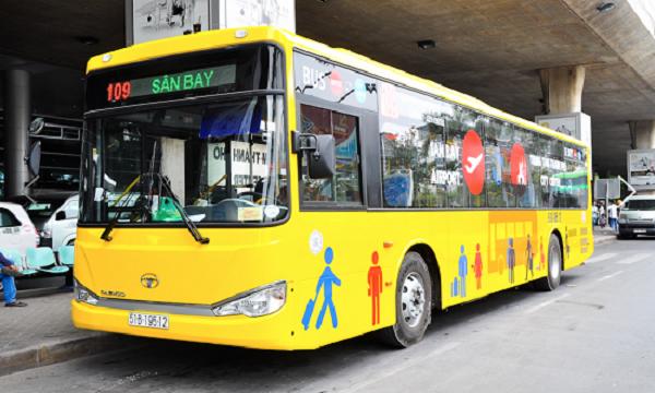 Tuyến xe buýt đi sân bay Tân Sơn Nhất số 109