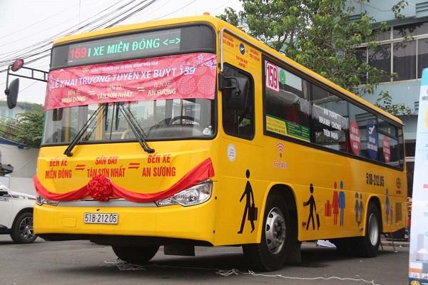 Tuyến xe buýt đi sân bay Tân Sơn Nhất số 159