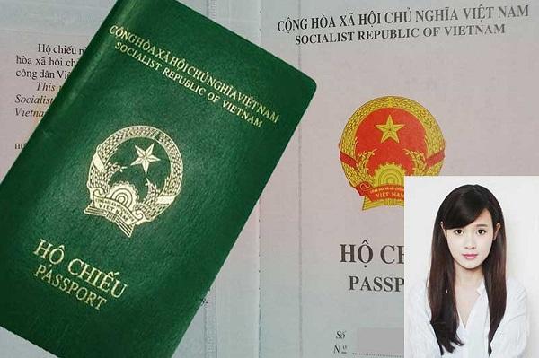 Chụp ảnh hộ chiếu mặc áo gì