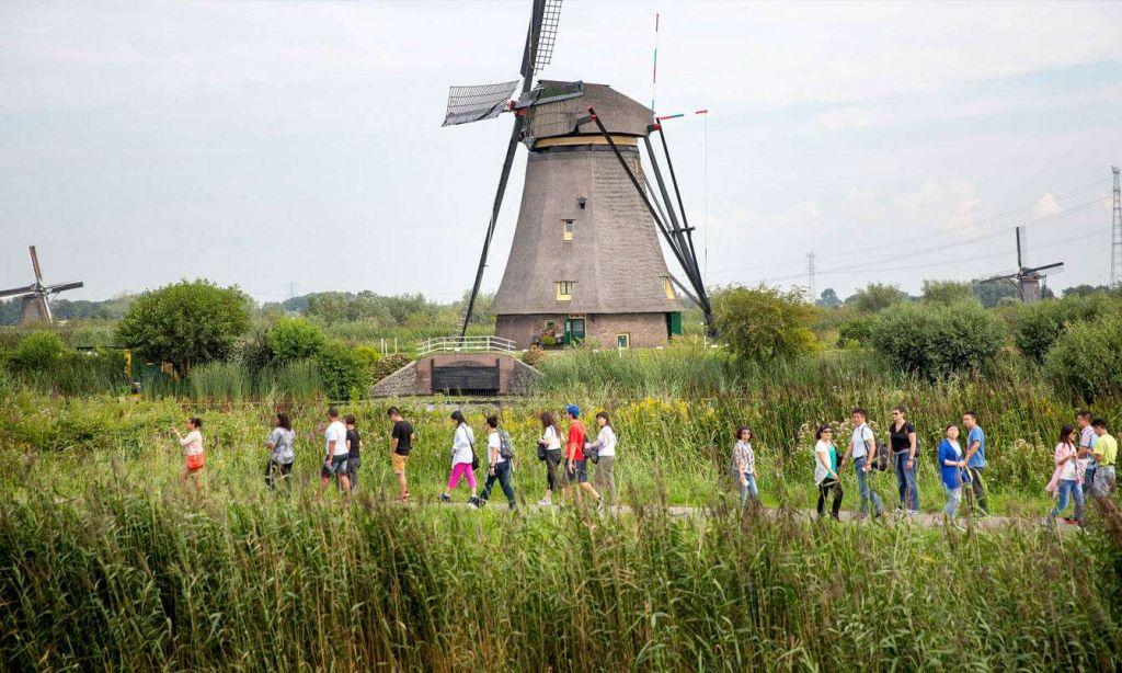 Cối xay gió làng Kinderdijk