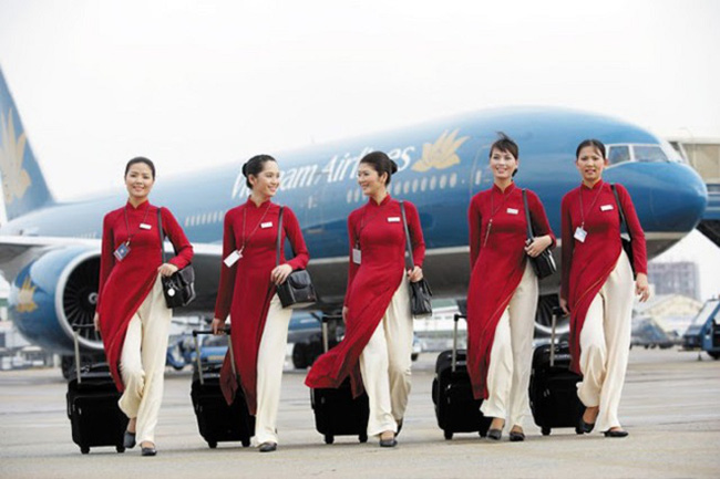 Đồng phục Vietnam Airline