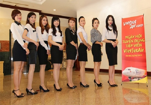 Kinh nghiệm phỏng vấn tiếp viên hàng không Vietjet