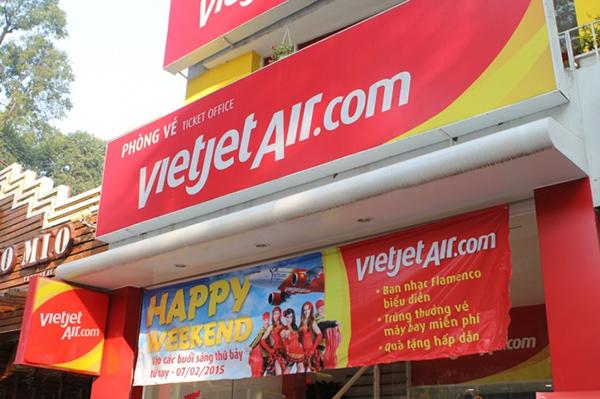 Phòng vé máy bay Vietjet Air