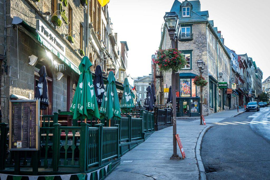 Thành phố cổ Quebec