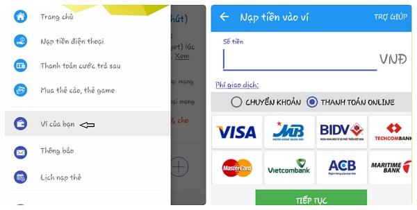 Thanh toán vé máy bay Vietjet bằng thẻ Visa