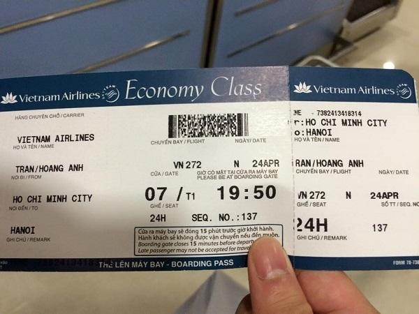 Vé máy bay Sài Gòn Hà Nội