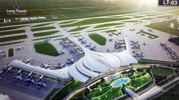 Vị trí sân bay Long Thành