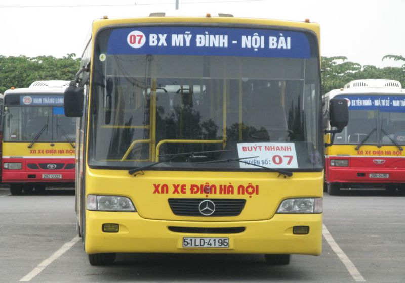 Xe bus Vietnam Airline