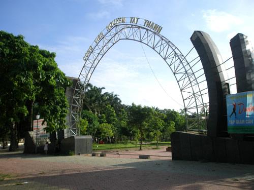 Công viên Nguyễn Tất Thành