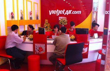 Mở đại lý vé máy bay Vietjet