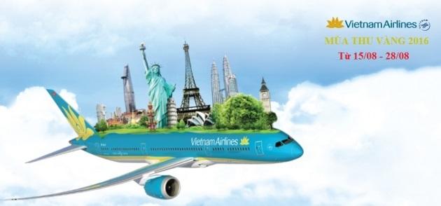 Mùa thu vàng Vietnam Airlines