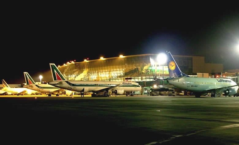 sân bay Leonardo da Vinci