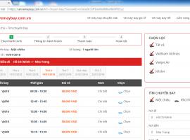Tìm chuyến bay