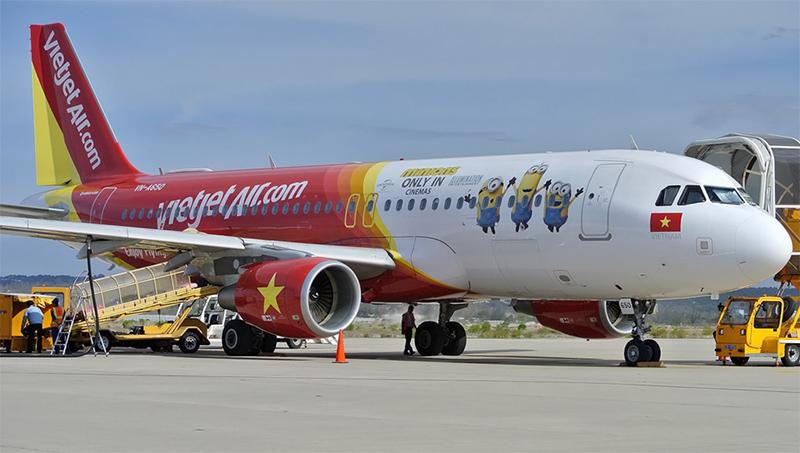 Vé máy bay giá rẻ đi Đà Nẵng Vietjet Air