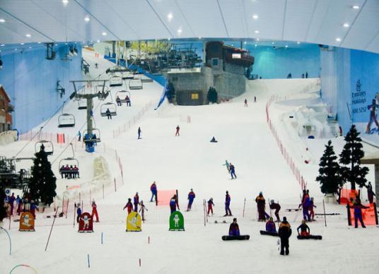Khu trượt tuyết Dubai