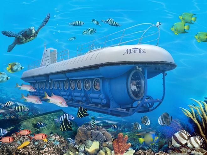 Du lịch bằng tàu ngầm