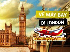 Vé máy bay đi London