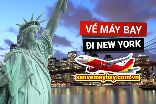Vé máy bay đi New York