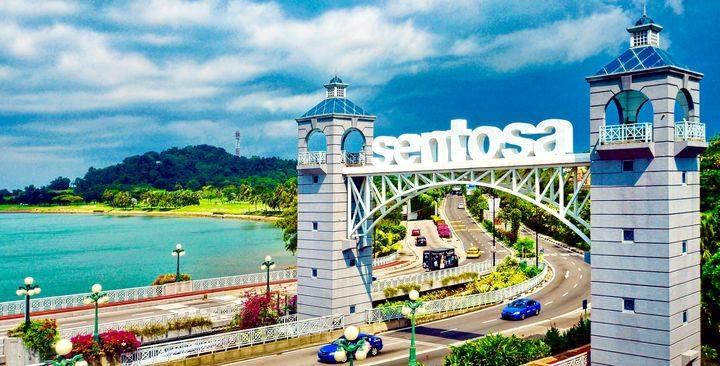 Đảo Sentosa và Universal Studio Singapore