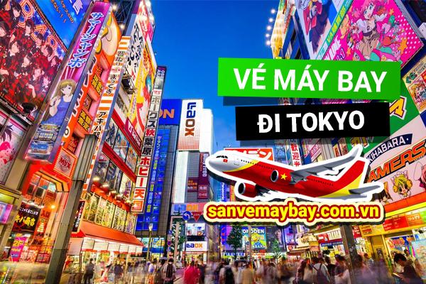 Vé máy bay đi Tokyo