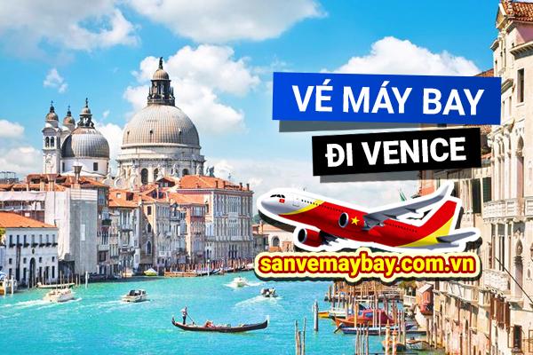 Vé máy bay đi Venice