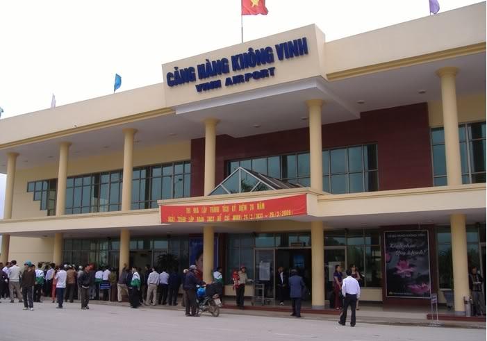 Vé máy bay Vietnam Airline đi Vinh