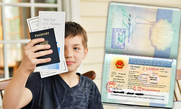 Làm hộ chiếu cho trẻ em