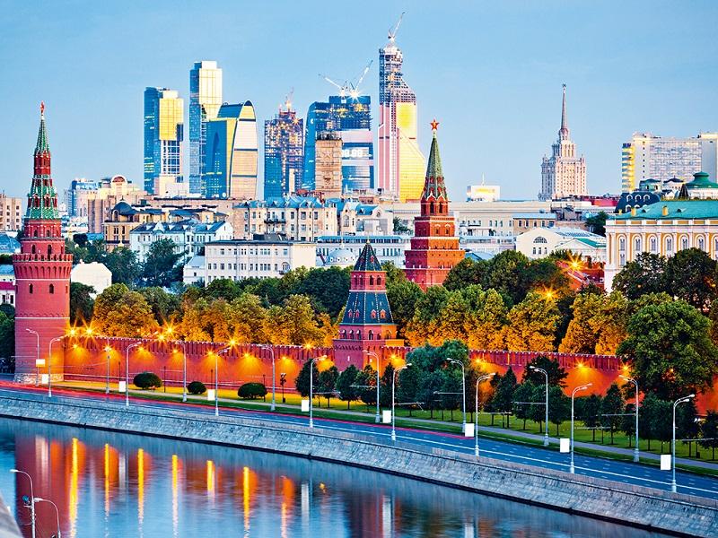 Thời tiết ở Moscow, Nga