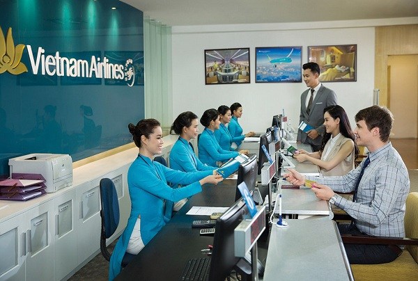 Vé máy bay Vietnam Airline tháng 7